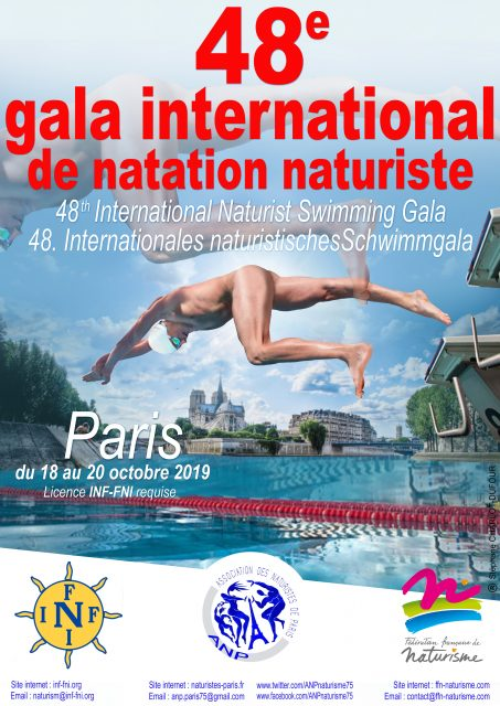 Gala de Natation INF à Paris (FR)